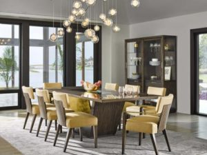 Beautiful Dining room Furniture with Lighting