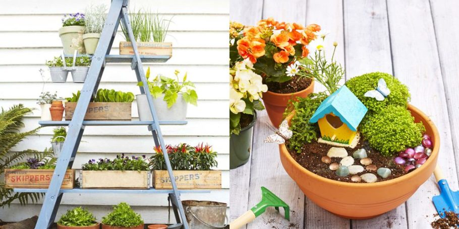 Small Garden Decor Ideas for your outdoor patio