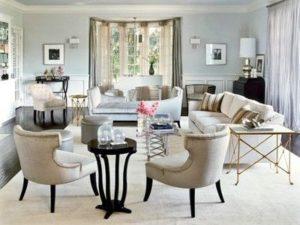 Delightful Old Hollywood Glamour Furniture Interior Design